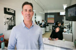 Architectural designer Aaron Guerin strives for success