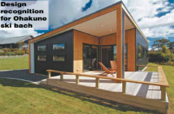 Design recognition for Ohakune ski bach