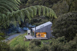 Small is good: Tiny rusted cottages win top design award