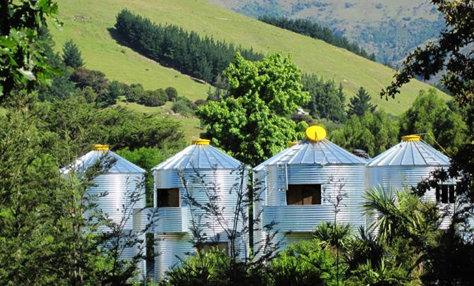 Who wouldn't want to turn a grain silo into a home?