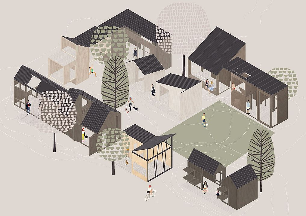 The house that lateral thinking built