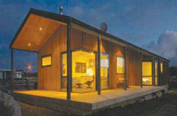 Architectural award for Ohakune bach