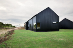 Black 'barn' wins architecture award