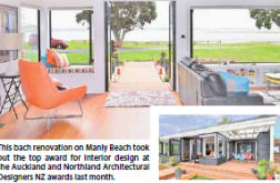 Manly bach renovation takes top regional award