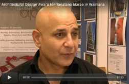 Architectural Design Award for Tanatana Marae in Waimana