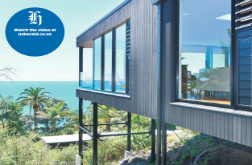 'Floating' coastal home on market